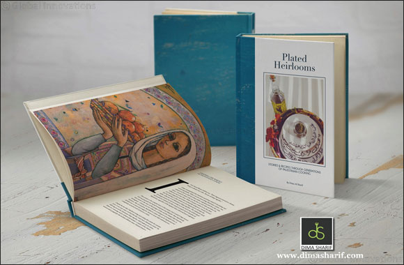Dima Al Sharid -Plated Heirlooms the 500-page book on Palestian cooking.